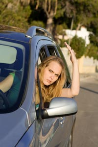 Frustrated? SMS another car driver