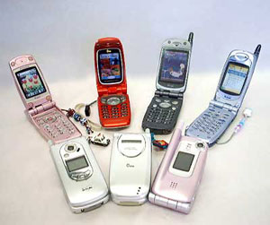 Record sales for mobile phones