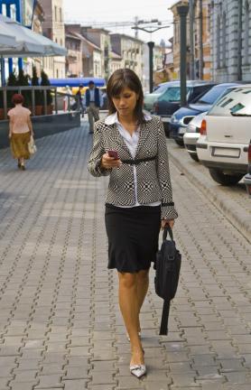 Walking & texting can be dangerous