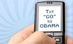 Obama's mobile marketing campaign