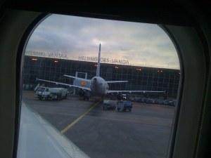 arrival Helsinki airport