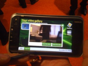 mobile video demonstration Nokia